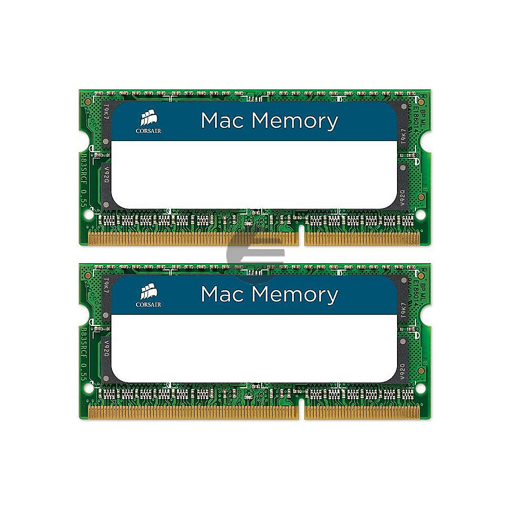 DDR3 1600Mhz 16GB 2X204 SODIMM 2x 8GB DDR3L, S0-DIMM, 1.35V, 204-pin Memory kit for Apple (CMSA16GX3M2A1600C11)