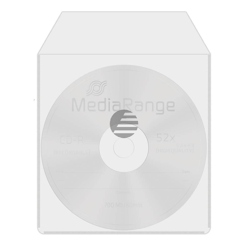 Mediarange CD Hüllen (50) PP transparent (BOX64)