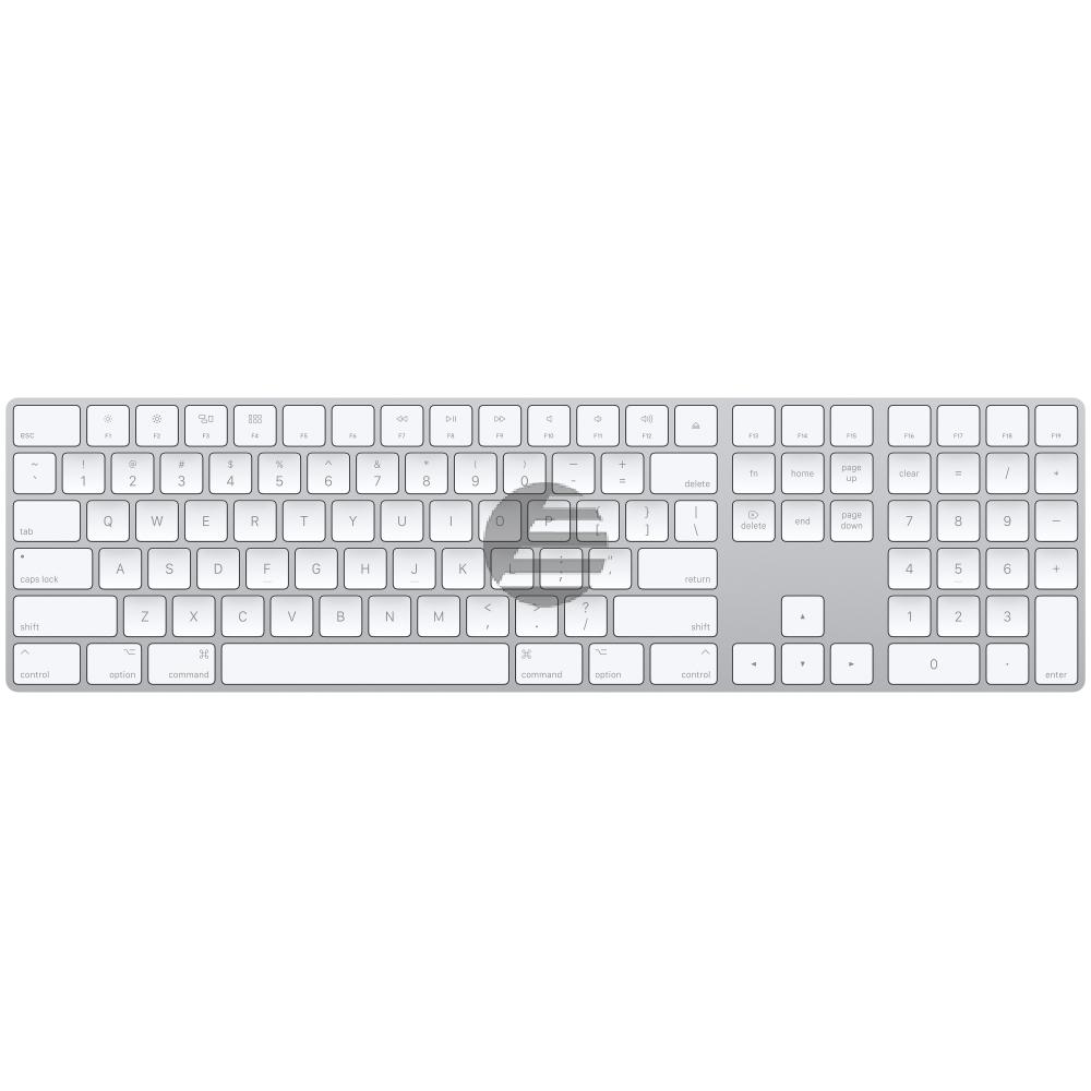 Apple Magic Keyboard Tastatur mit Nummernblock, international englisch