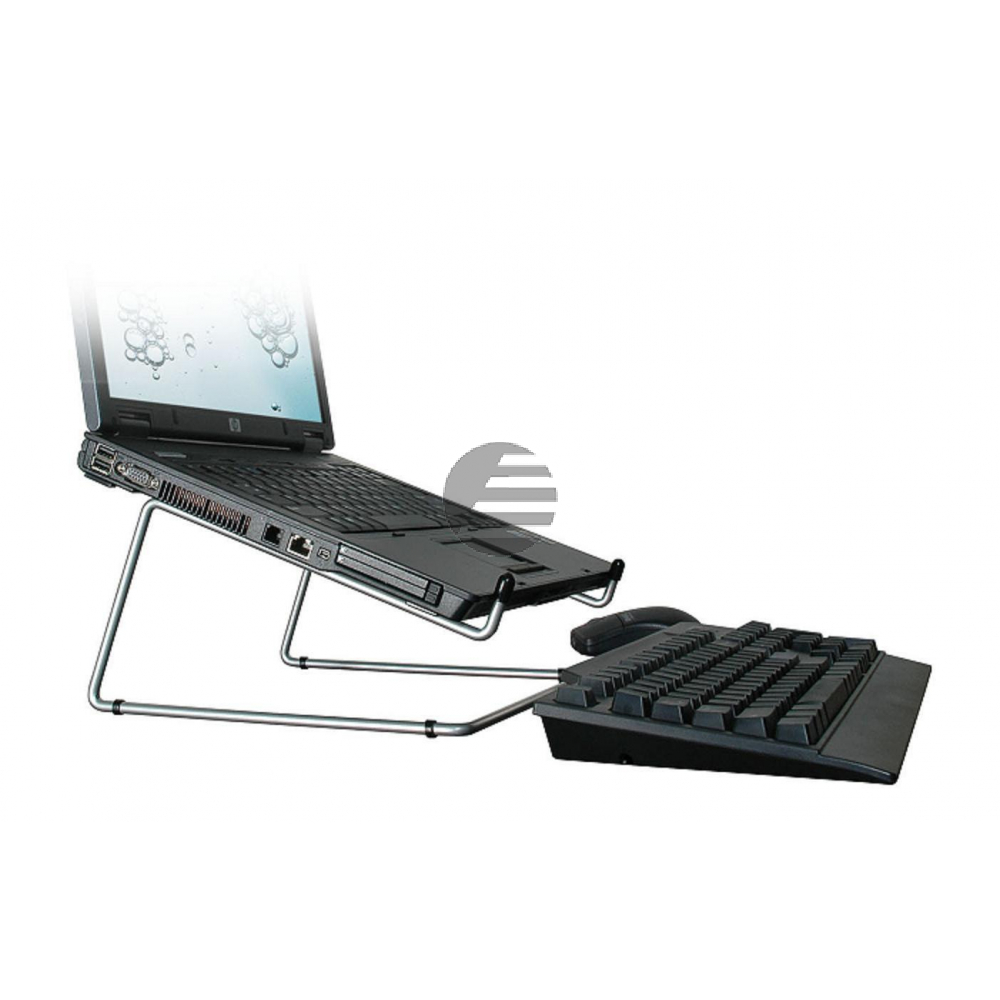 R-GO OFFICE LAPTOPSTAENDER RGOSC020 silber 10 bis 22