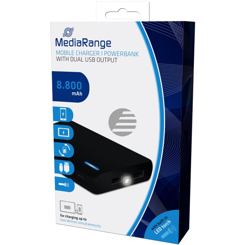MediaRange Powerbank schwarz (MR752)
