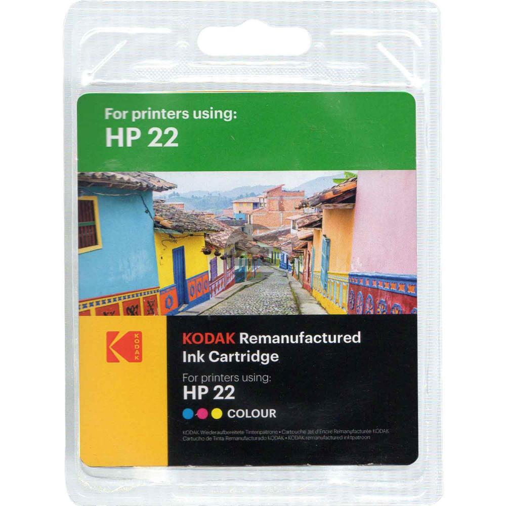Kodak Tintenpatrone cyan/gelb/magenta (185H002213) ersetzt 22