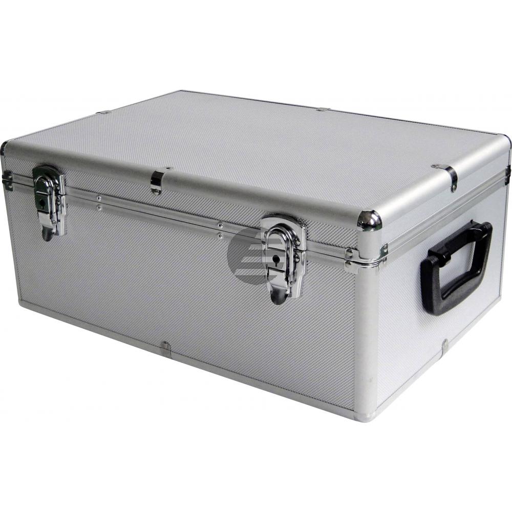 MEDIARANGE ARCHIVIERUNGSKOFFER SILBER BOX77 fuer 500Discs