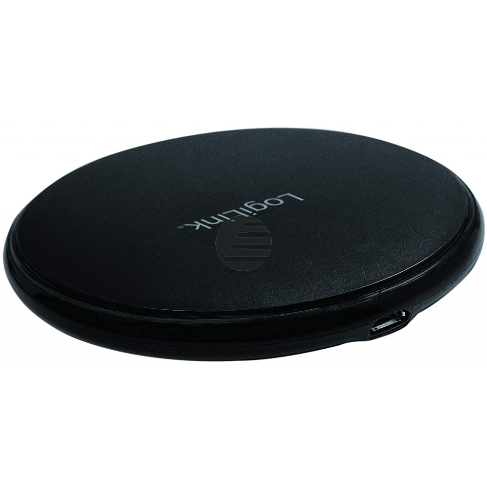 LogiLink Wireless Table Fast Charger 10W - induktive Ladestation black