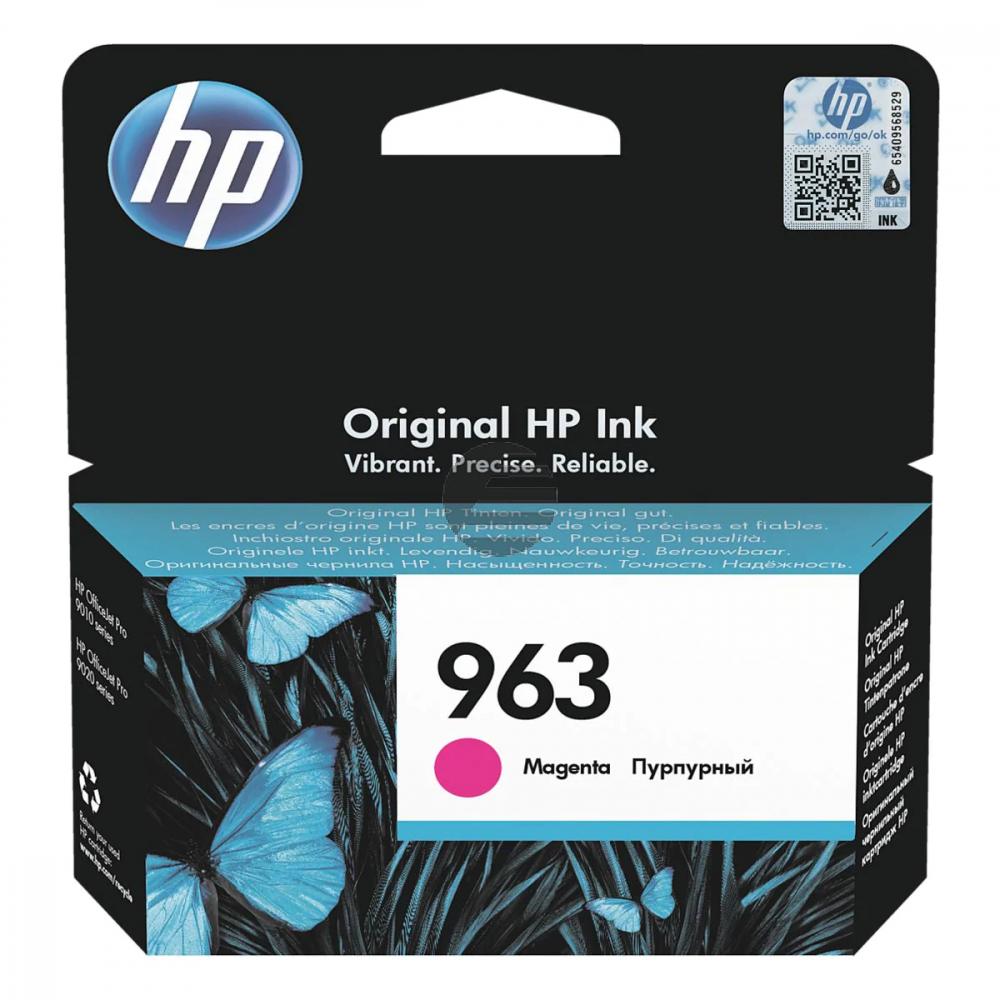 HP Tintendruckkopf magenta (3JA24AE#BGX, 963)