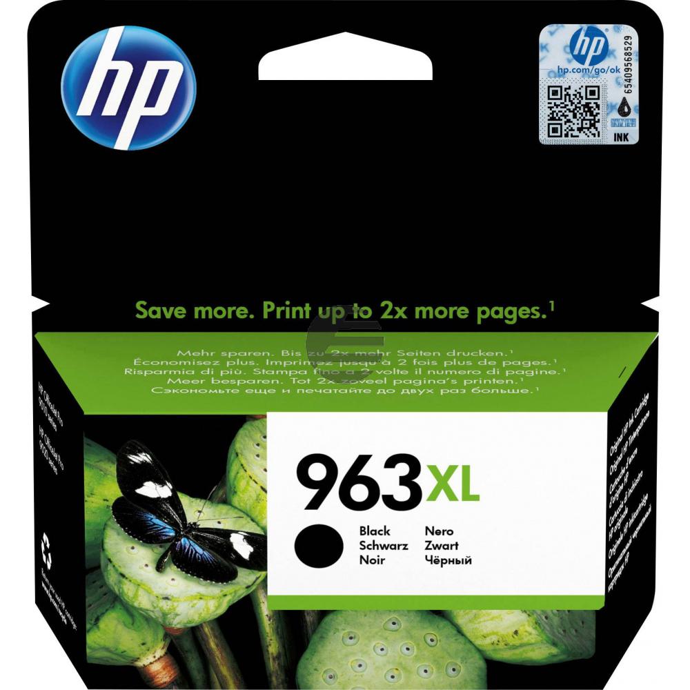 HP Tintenpatrone schwarz HC (3JA30AE#BGX, 963XL)