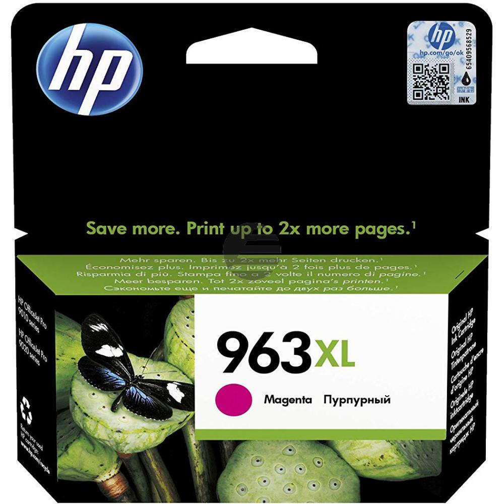 HP Tintenpatrone magenta HC (3JA28AE#BGX, 963XL)