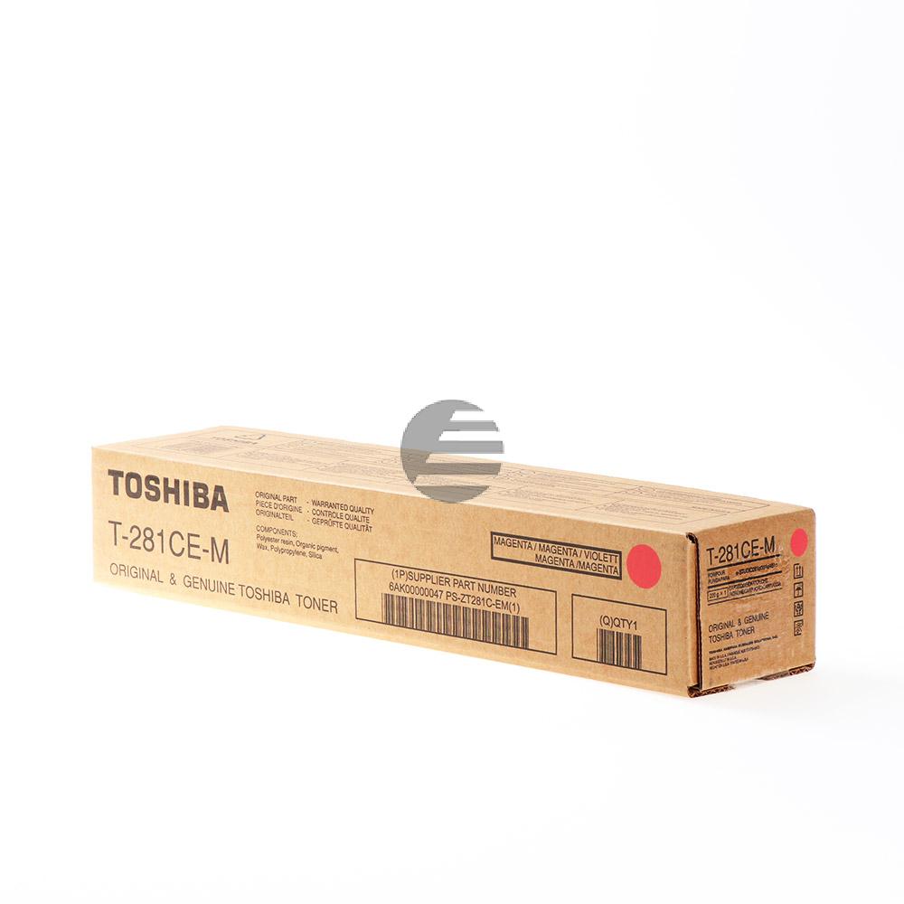 Toshiba Toner-Kit magenta (6AK00000047, T-281CEM)