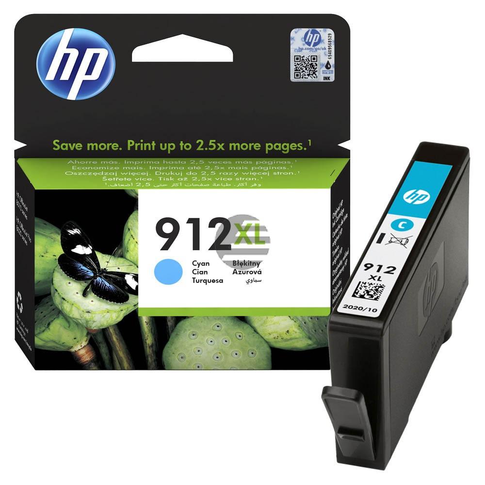 HP Tintenpatrone cyan HC (3YL81AE#BGX, 912XL)