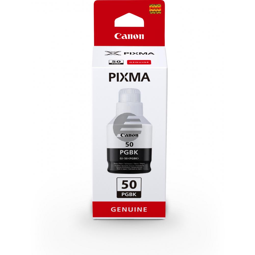 Canon Tintennachfüllfläschchen schwarz (3386C001, GI-50PGBK)