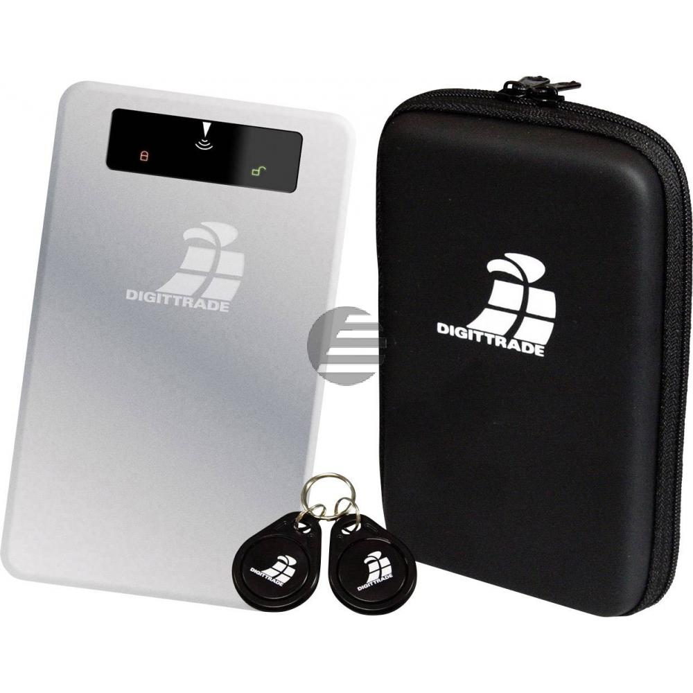 DIGITTRADE SSD FESTPLATTE EXTERN 2TB DG-RS256-2TBS USB 3.0 RFID Sicherheit
