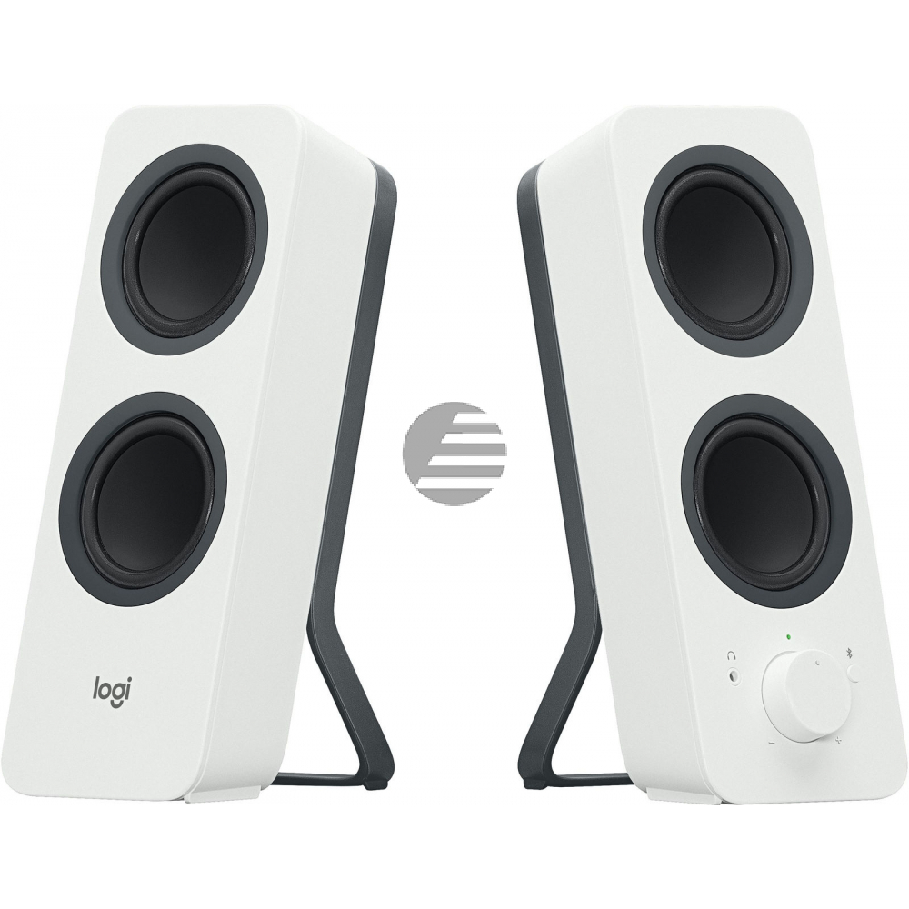 LOGITECH Z207 Bluetooth Computer Speakers - OFF WHITE - EMEA