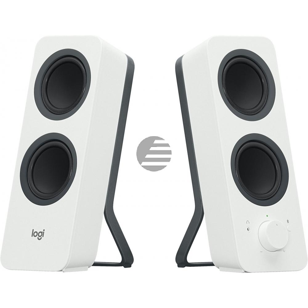 LOGITECH Z207 Bluetooth Computer Speakers - OFF WHITE - EMEA (UK)