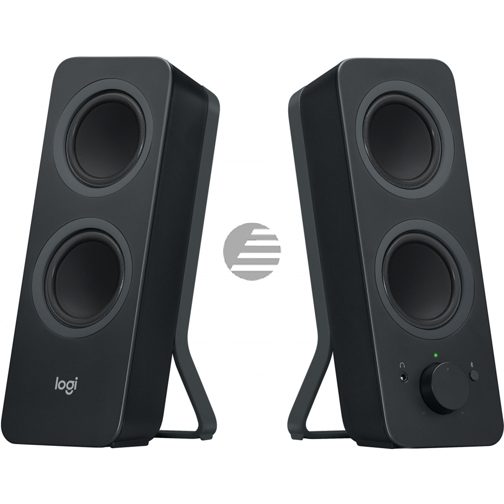 LOGITECH Z207 Bluetooth Computer Speakers - BLACK - EMEA