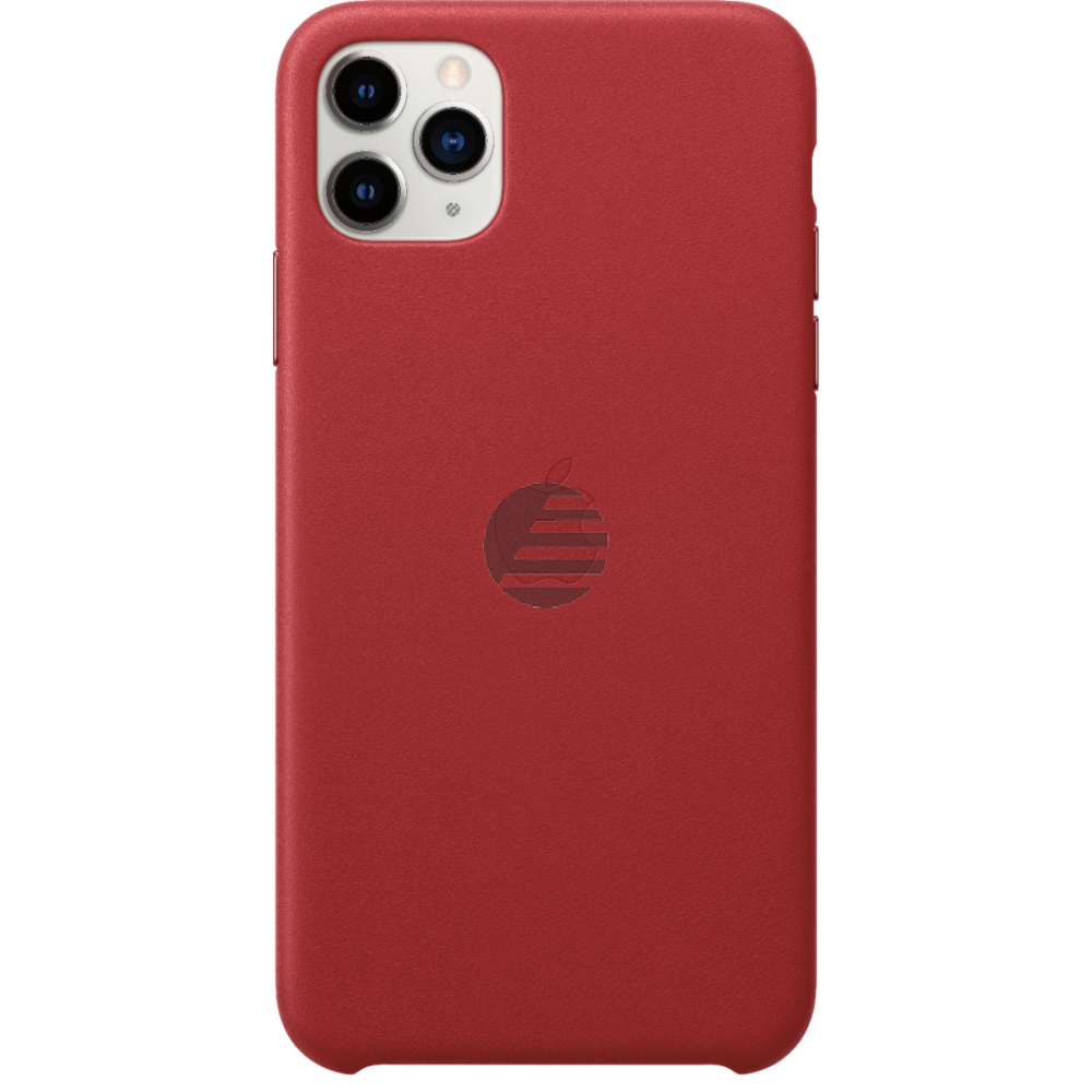 Apple iPhone 11 Pro Max Leather Case (PRODUCT) RED