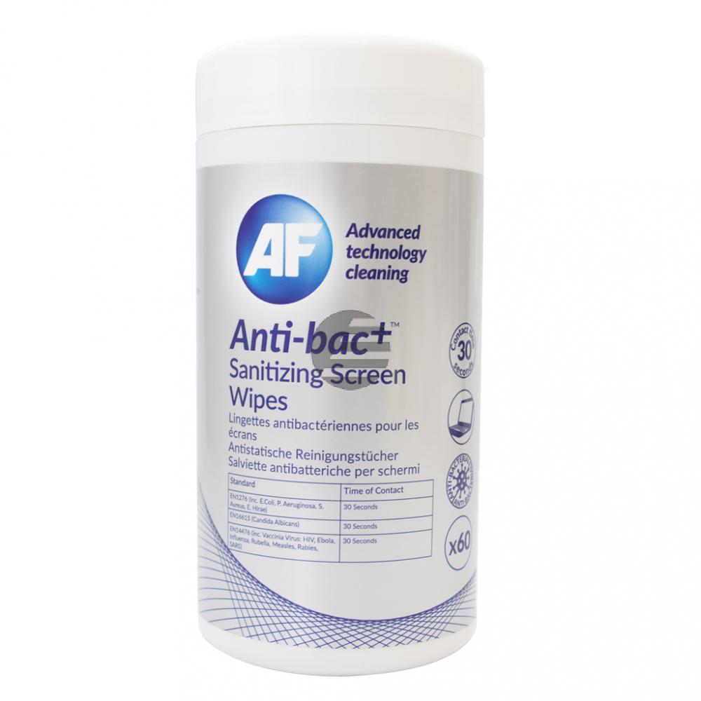 ABSCRW60T AF ANTI-BAC+ (60) Spenderdose Reinigungstuecher