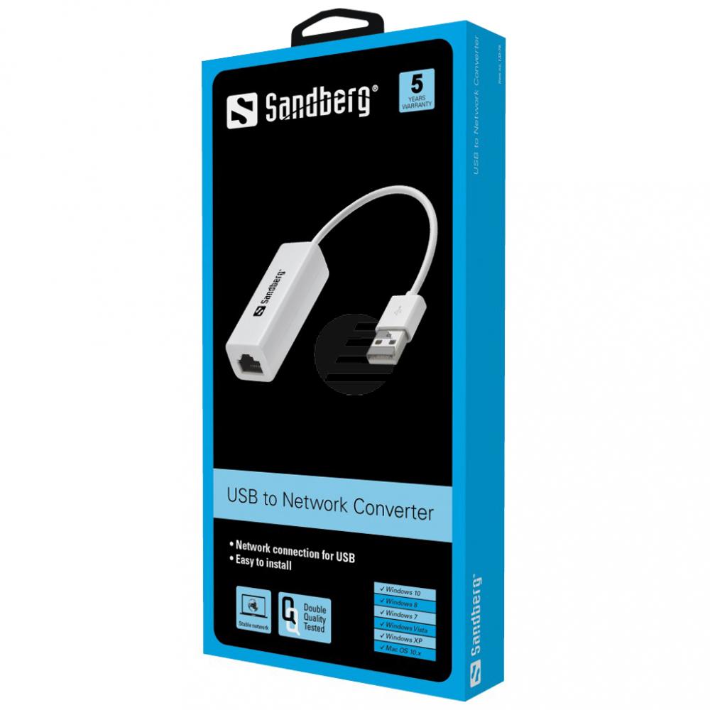 Sandberg USB to Network Converter