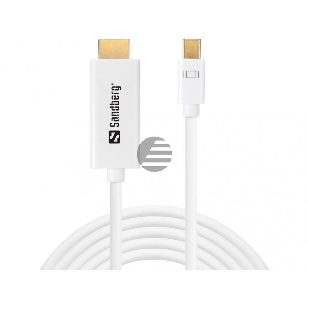 Sandberg MiniDP 1.2 > HDMI 4K 2m