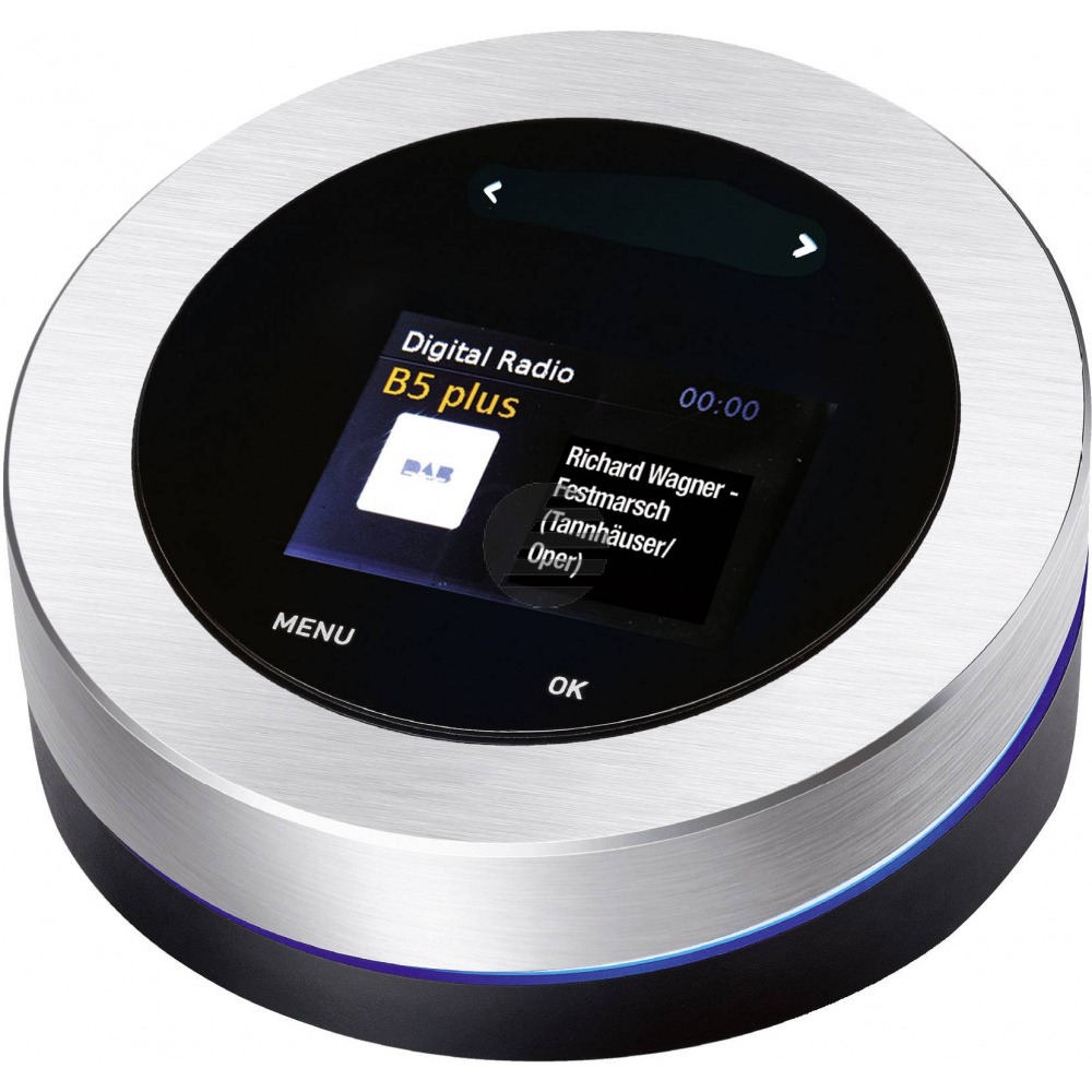 Albrecht DR 50 B Digitalradio- und Bluetoothadapter, silber/schwarz