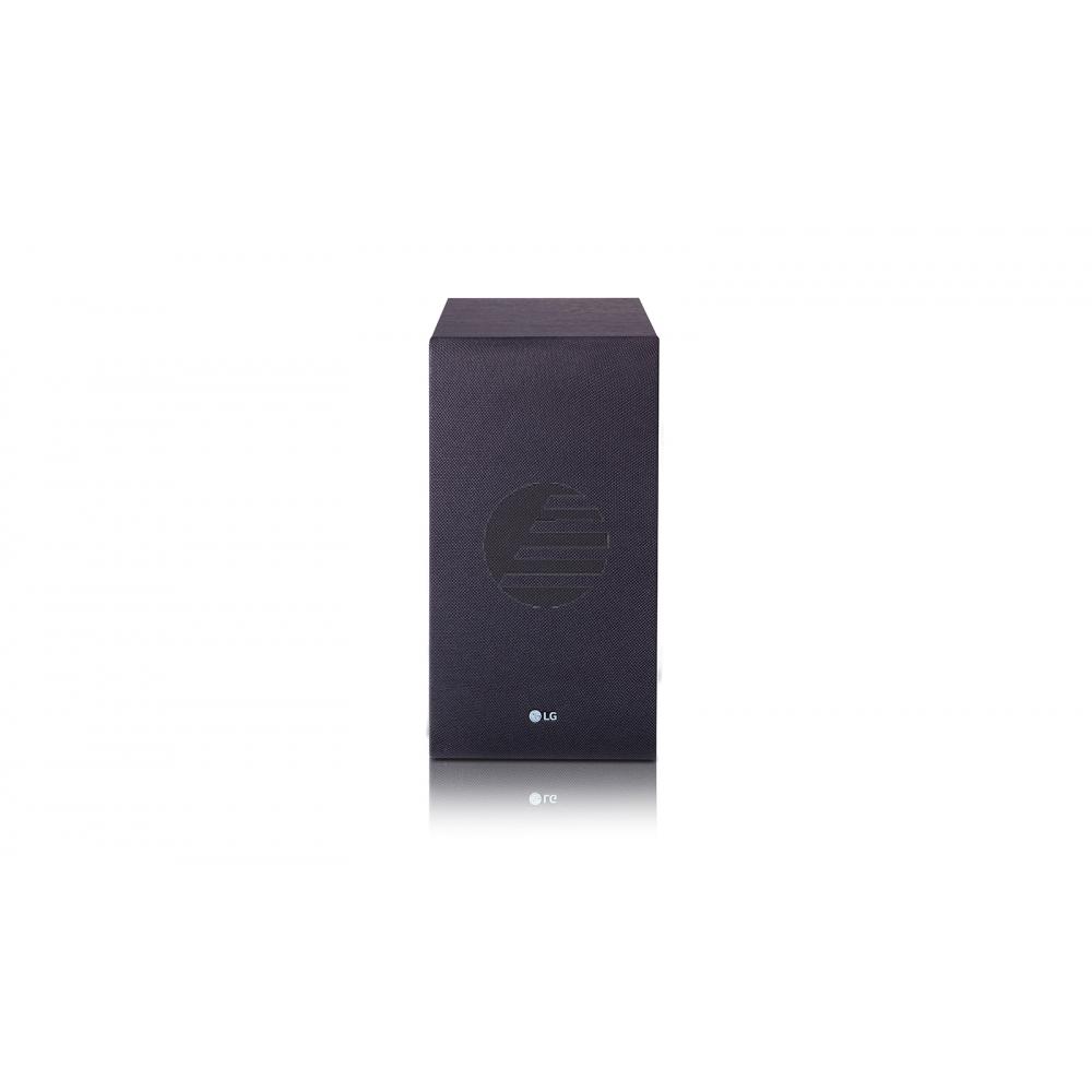 LG 4.1 Soundbar, 420 Watt, drahtloser Subwoofer, Rear Speaker Kit, schwarz