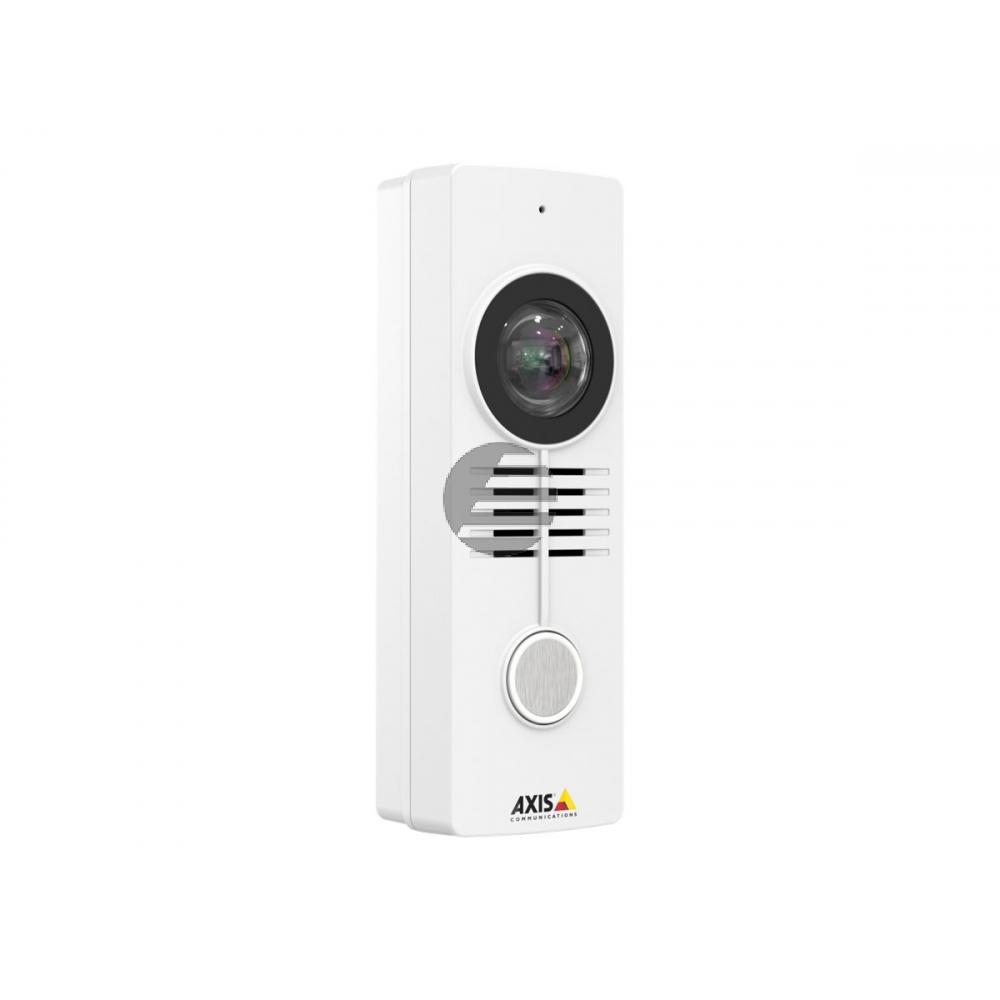 AXIS A8105-E Network Video Door Station - Netzwerk-Überwachungskamera - Außenbereich - staub-/wasserdicht - Farbe - 1920 x 1200