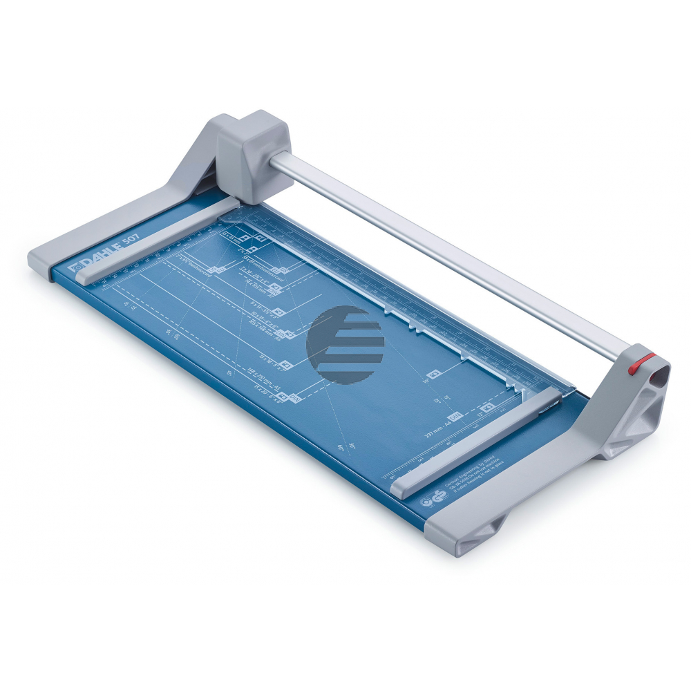 DAHLE Rollschneidmaschine 507 blau 00507-24 Schnittleistung 8 Blatt A4