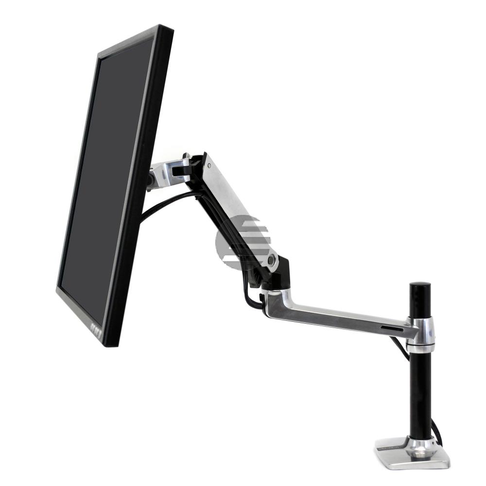 45-488-026 /  LX HD SIT-STAND DESK MOUNT LCD ARM, NO POLE, POLISHED