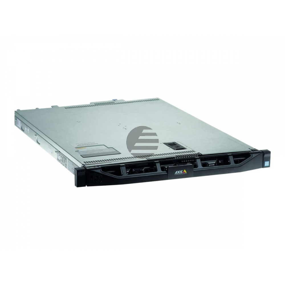 AXIS Camera Station S1132 Recorder - Server - Rack-Montage - 1U - 1 x Xeon E3-1220V5 - RAM 8 GB - SSD 240 GB, HDD 4 x 4 TB - Gig