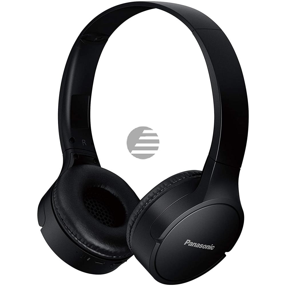 Panasonic RB-HF420BE-K Bluetooth On-Ear Kopfhörer, schwarz