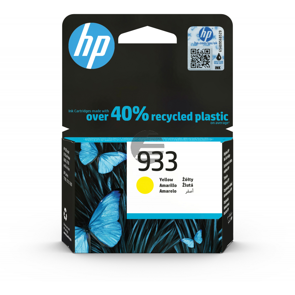 HP Tintenpatrone gelb (CN060AE)