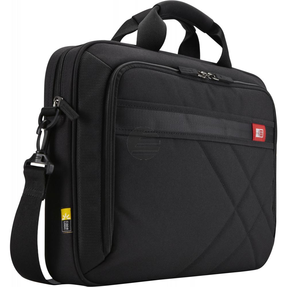 Case Logic Business Casual Topload Briefcase [15.6 inch] - black