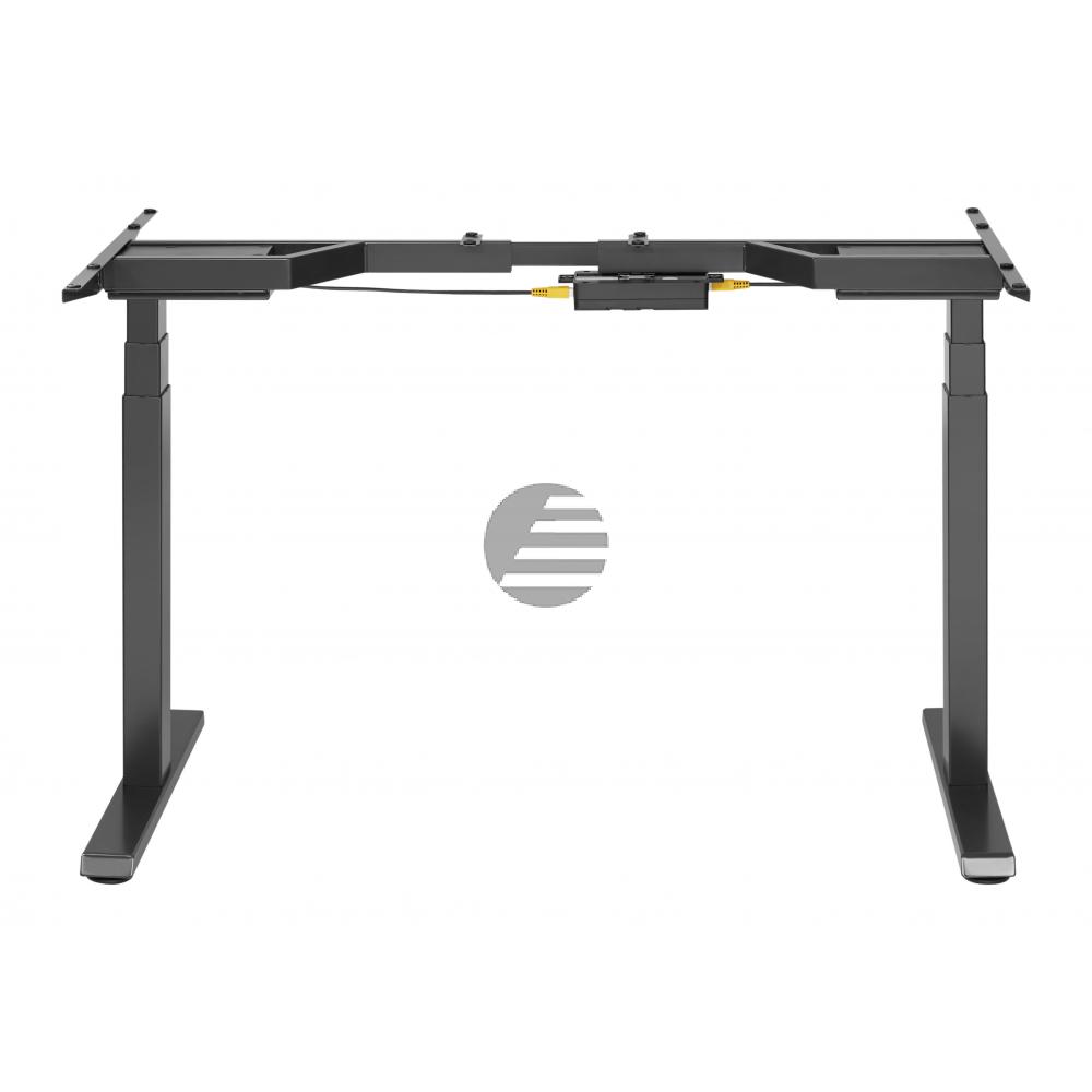 ICY BOX Hubtischgestell IBEW206BT schwarz, höhenverstellbar