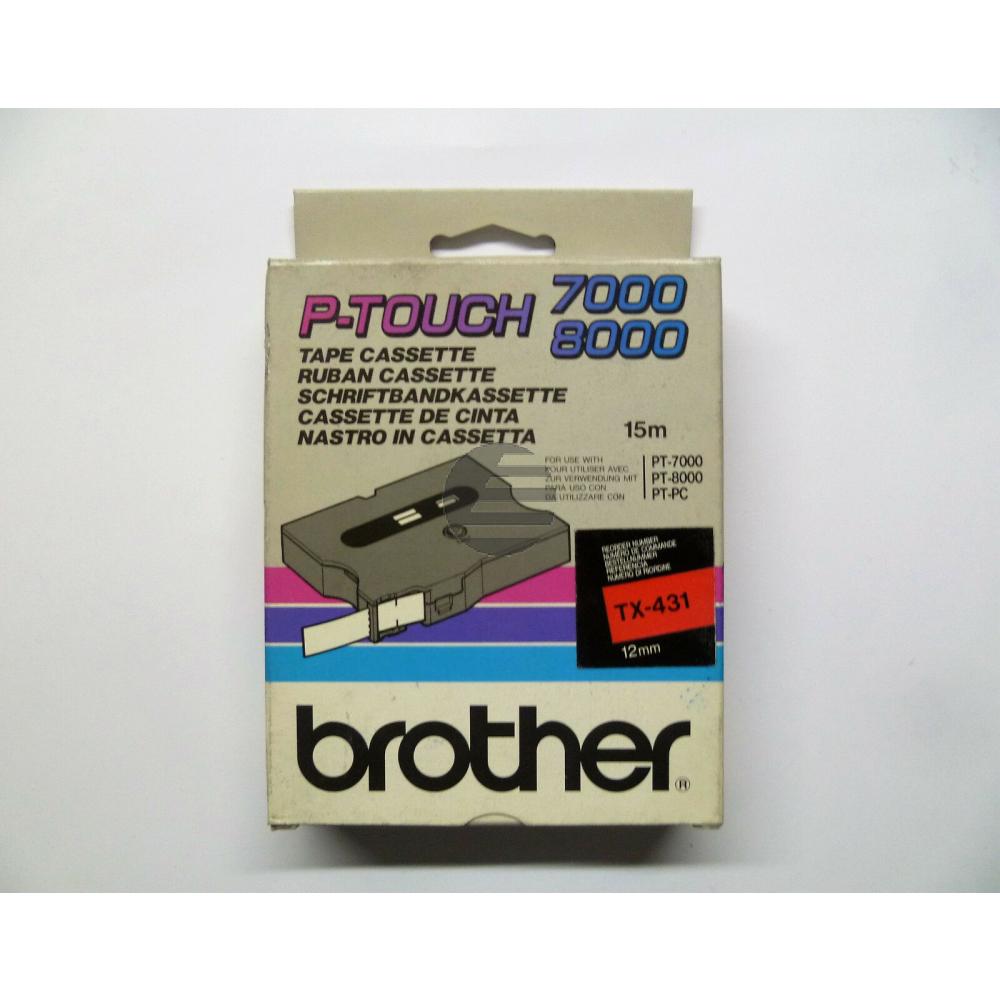 Brother Schriftbandkassette (TX-431)