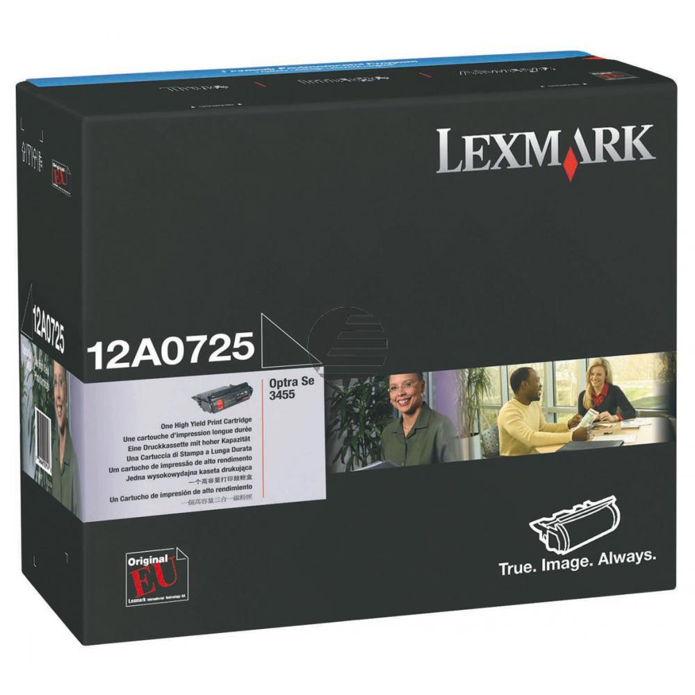 Lexmark Toner-Kartusche schwarz (12A0725)