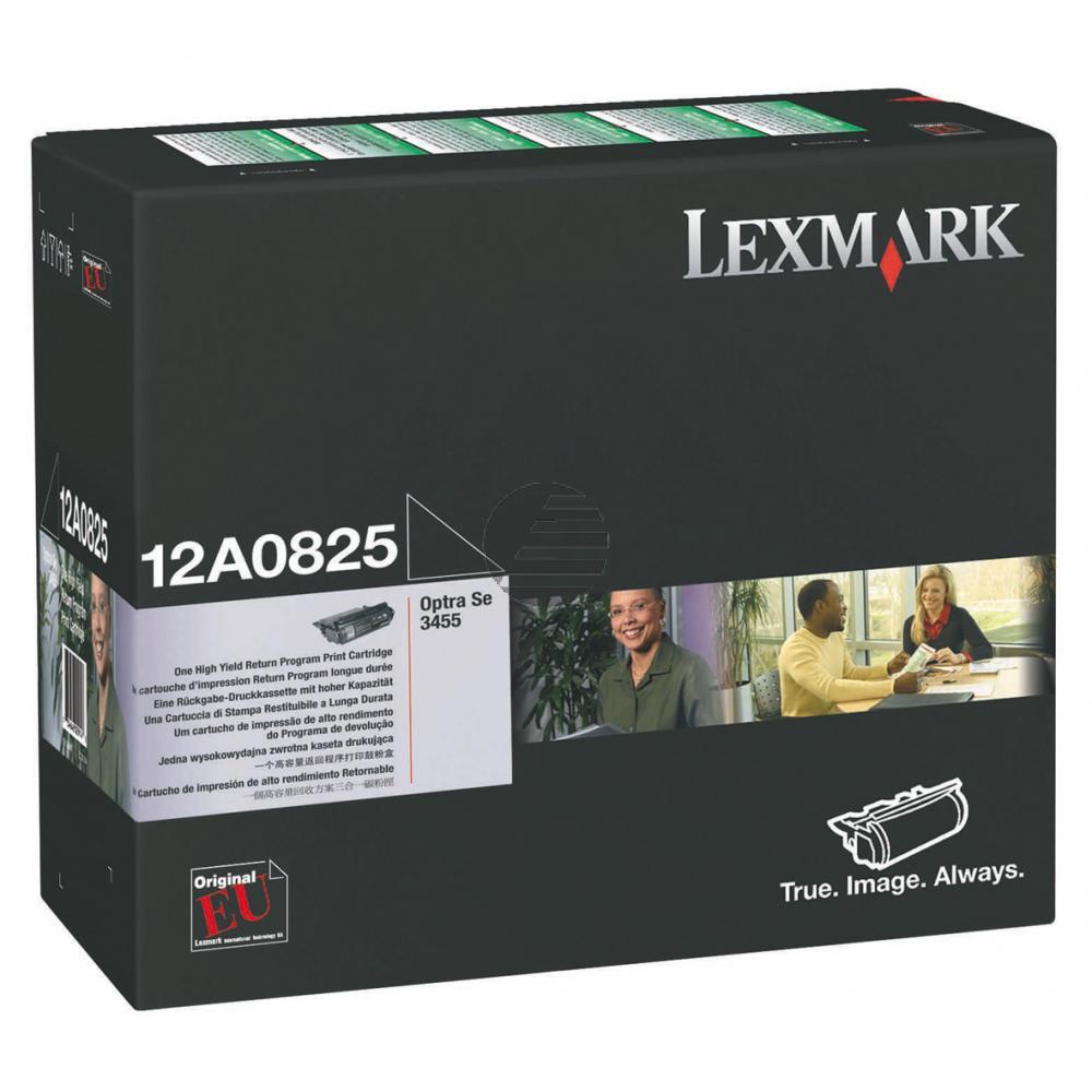 Lexmark Toner-Kartusche Prebate schwarz (12A0825)