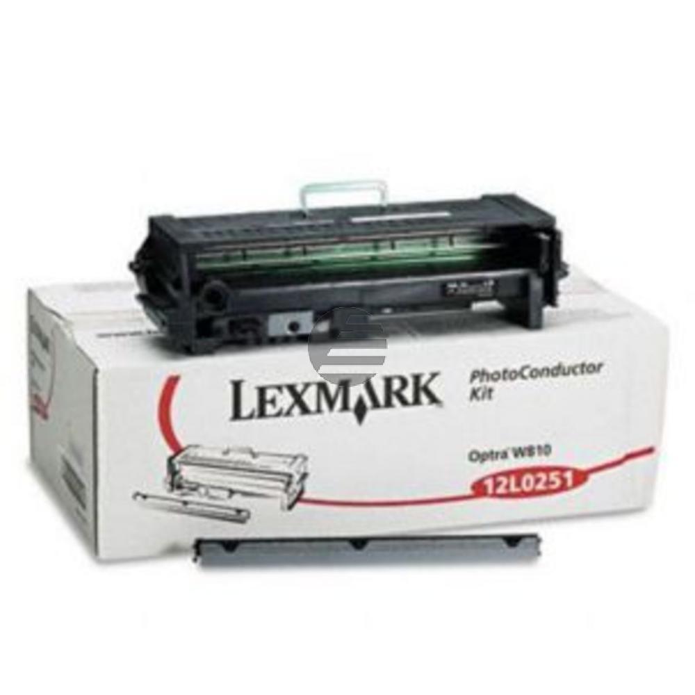 Lexmark Fotoleitertrommel schwarz (12L0251)