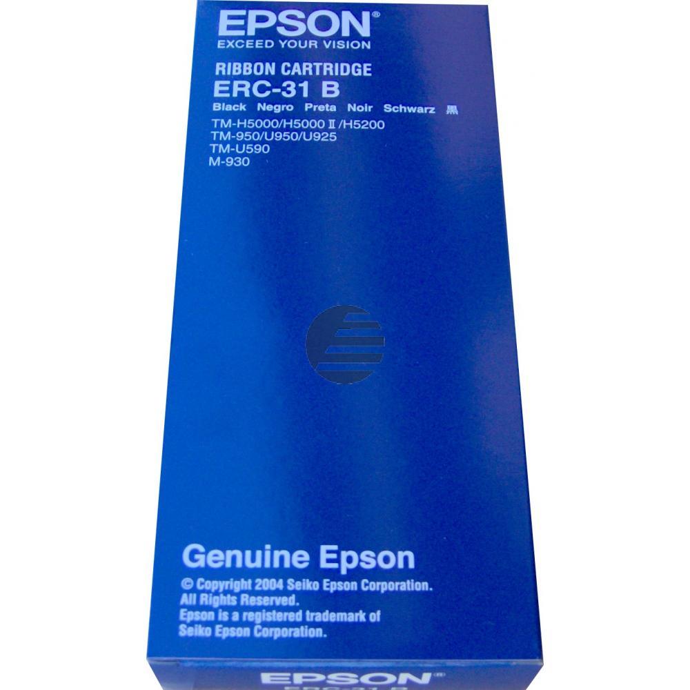 Epson Farbband Nylon schwarz (C43S015231, ERC-31B)