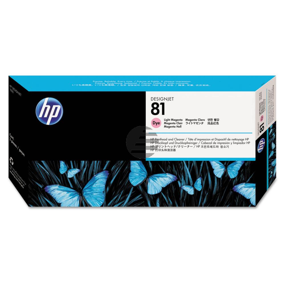 HP Tintendruckkopf magenta light (C4955A, 81)