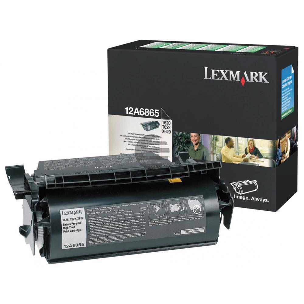 Lexmark Cartouche de toner Prebate noir GC (12A6865)