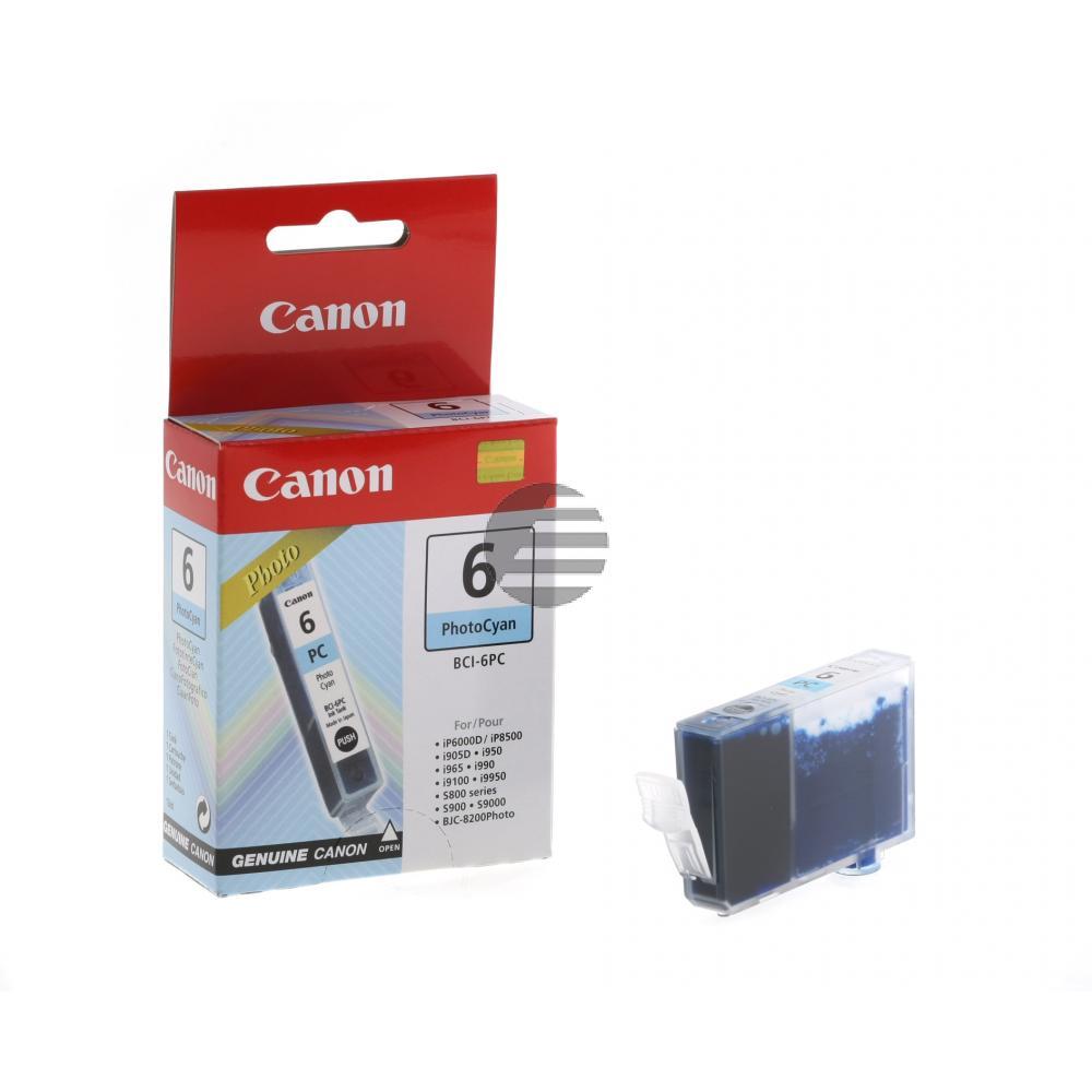Canon Tintenpatrone photo cyan (4709A002, BCI-6PC)
