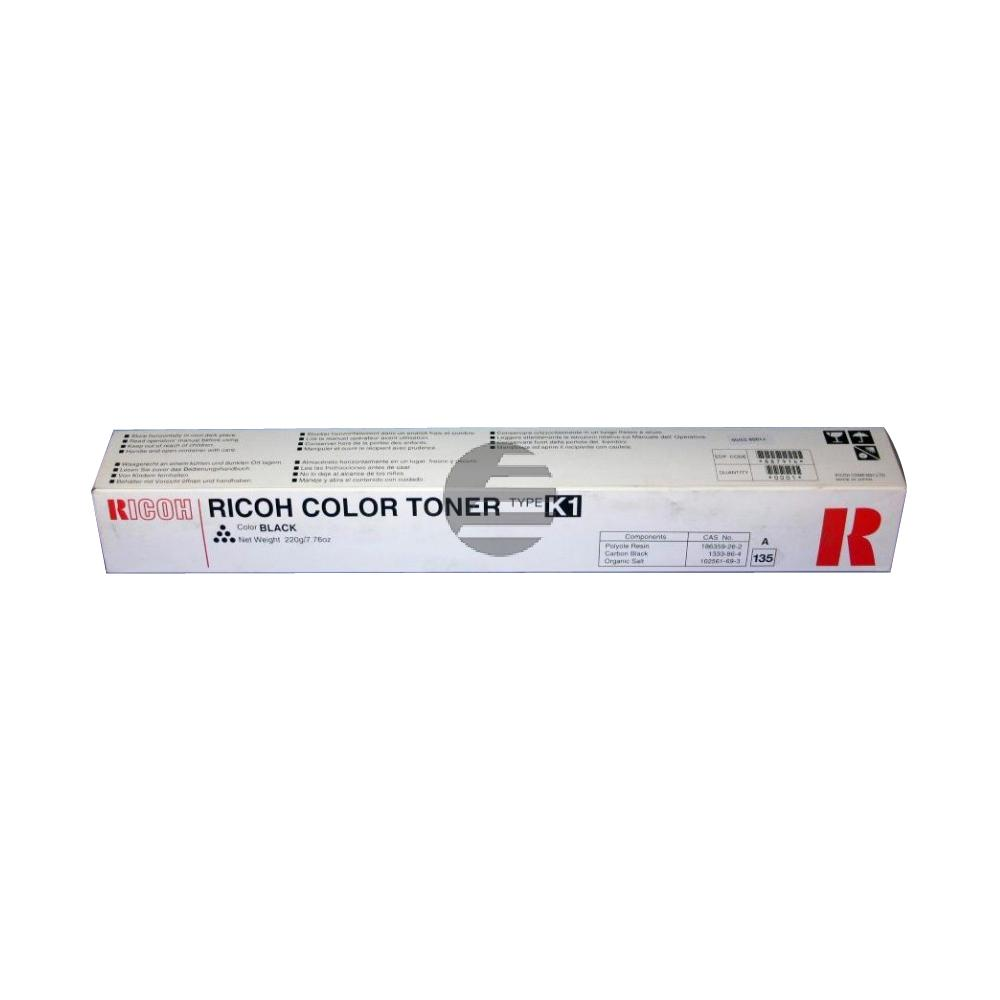 Ricoh Toner-Kit 4 x schwarz (887914, TYPE-K1BK)