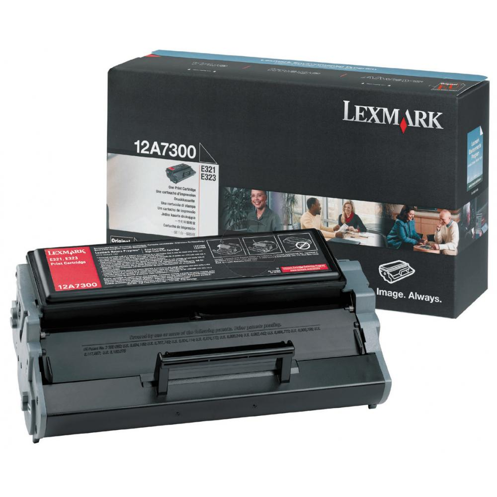 Lexmark Toner-Kartusche schwarz (12A7300)