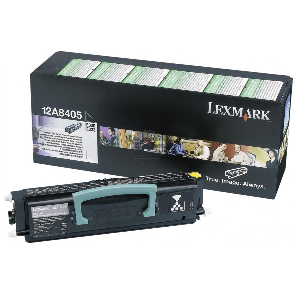 Lexmark Toner-Kartusche Return schwarz HC (34016HE)