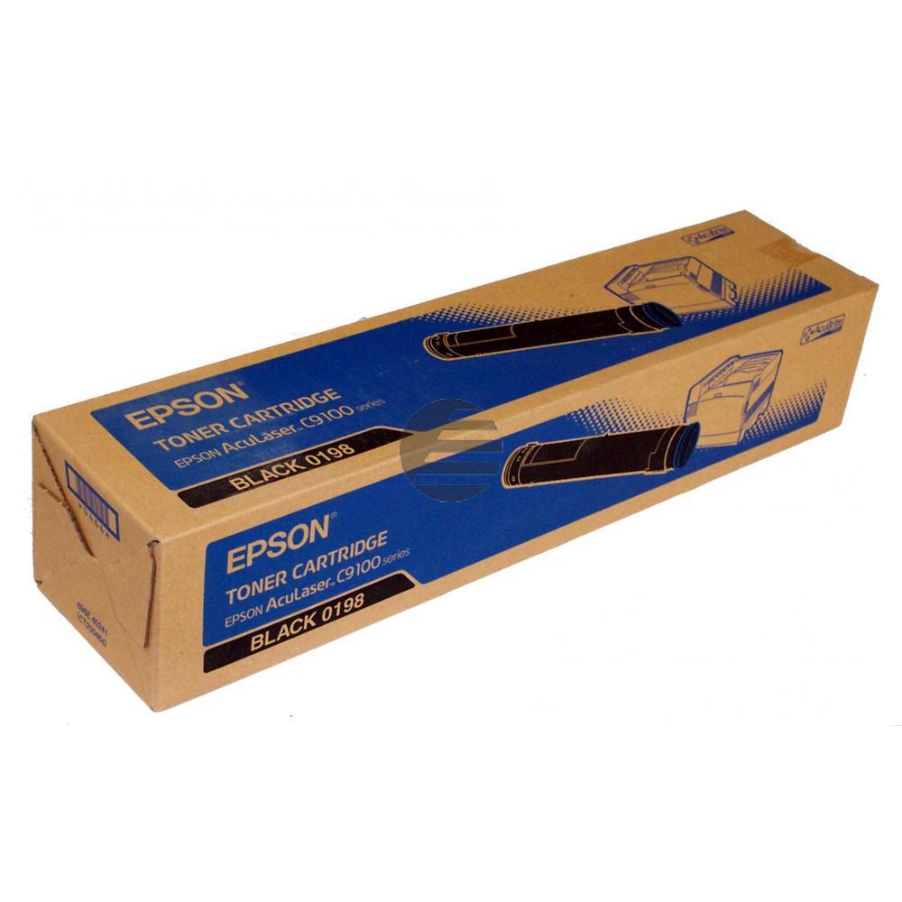 Epson Toner-Kartusche schwarz (C13S050198, 0198)