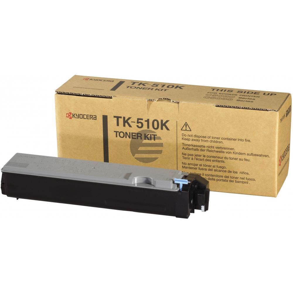 Kyocera Toner-Kit schwarz (1T02F30EU0, TK-510K)
