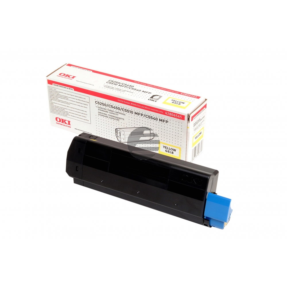 OKI Toner-Kit gelb (42804545)