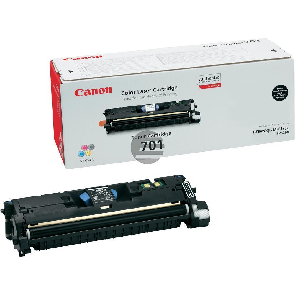 Canon Toner-Kit schwarz (9287A003, CL-701BK)
