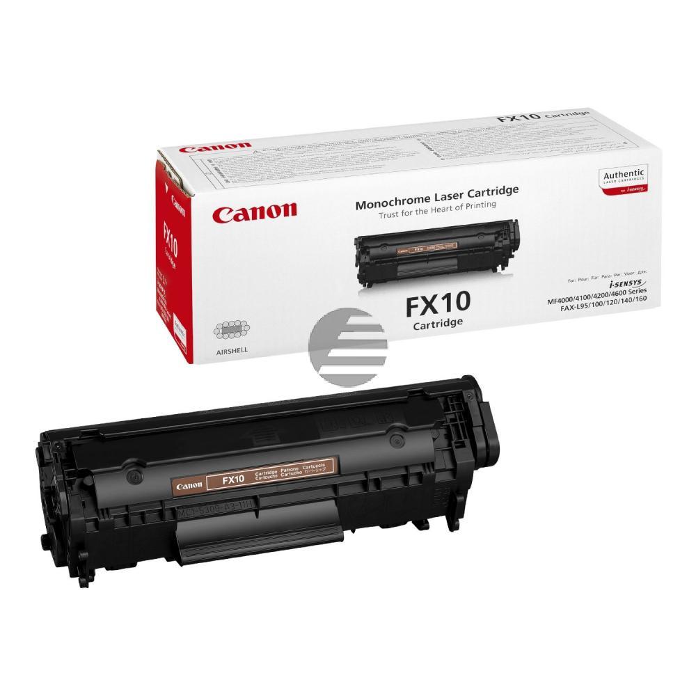 Canon Toner-Kartusche schwarz (0263B002, FX-10)