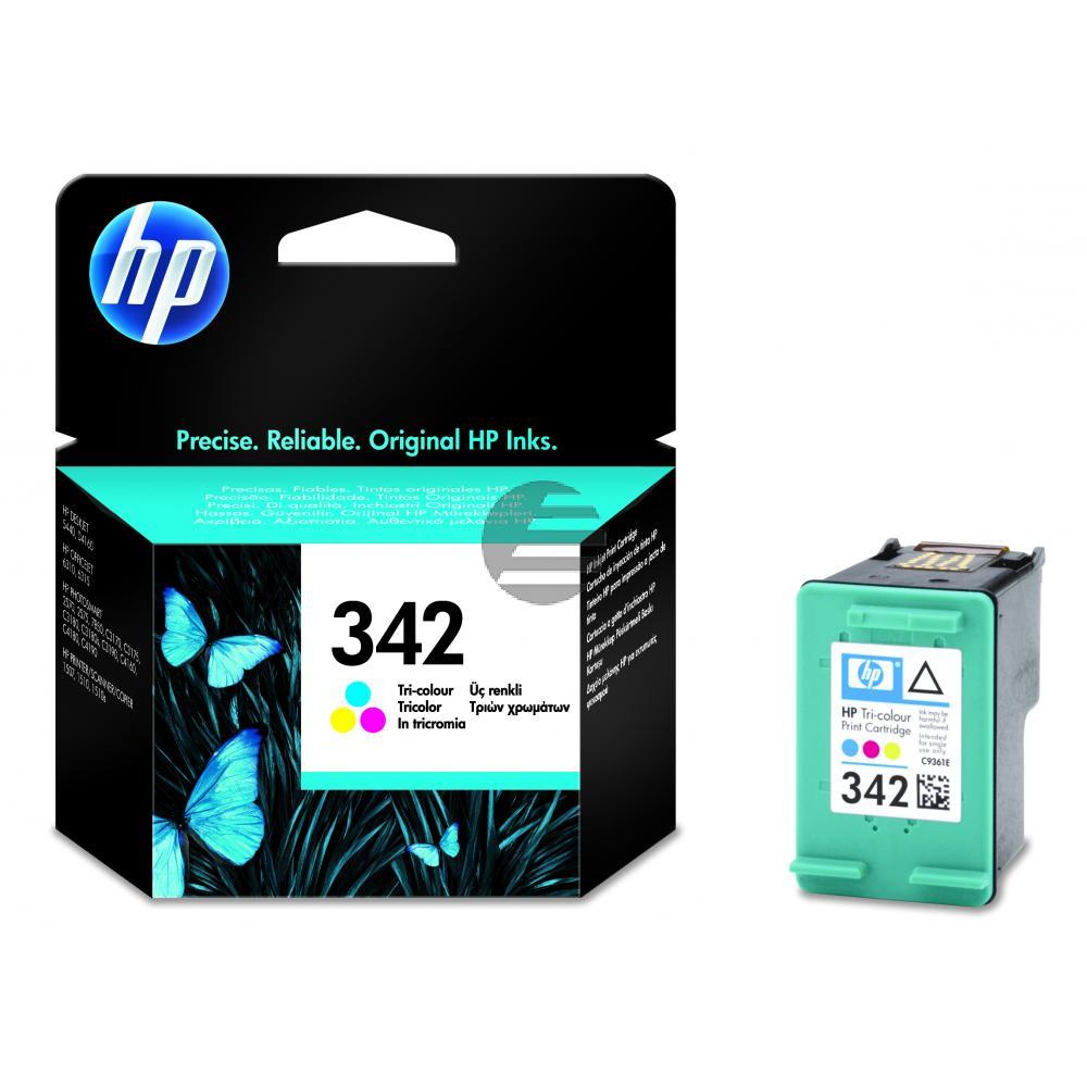 HP Tintenpatrone cyan/gelb/magenta (C9361EE, 342)