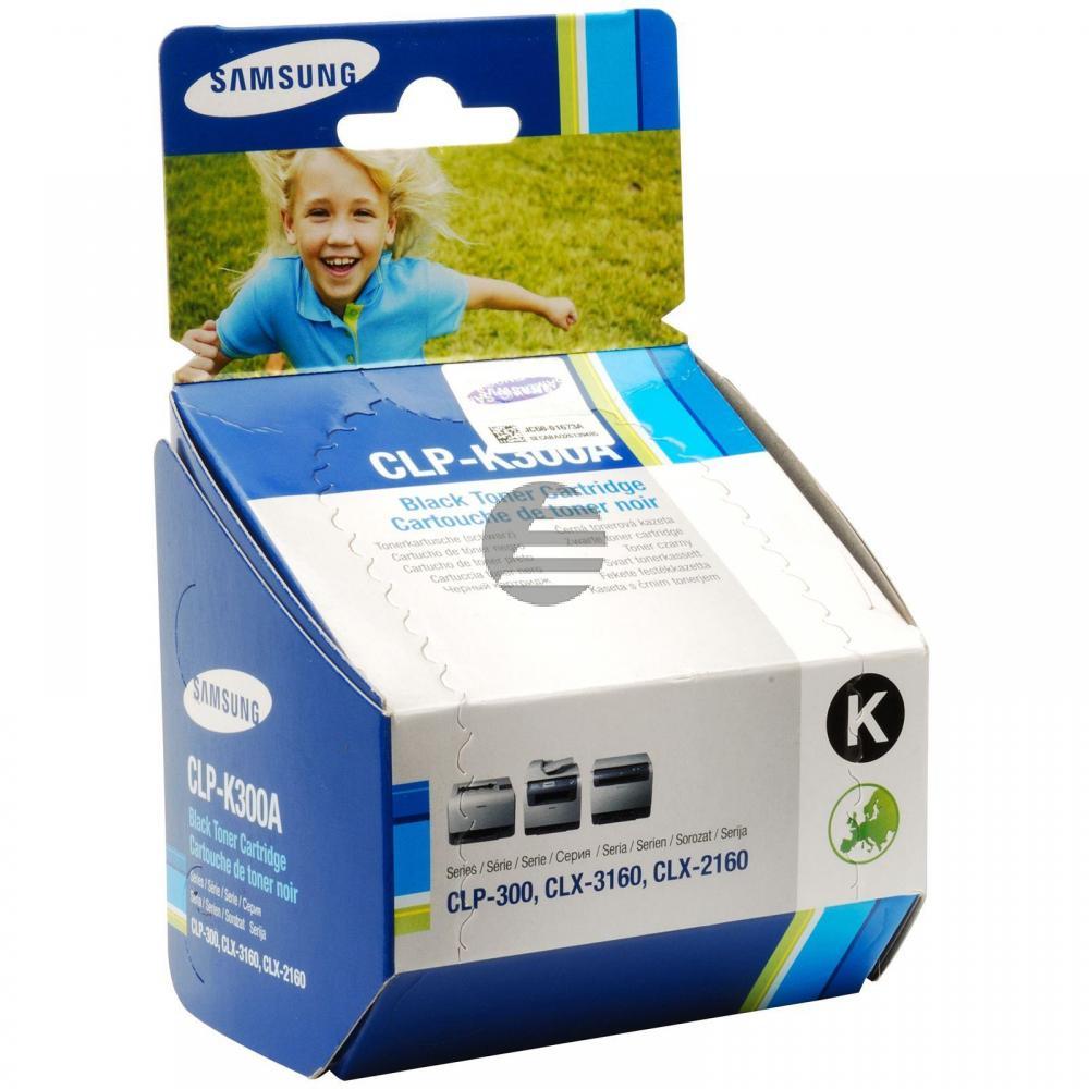 Samsung Toner-Kit schwarz (CLP-K300A, 300)